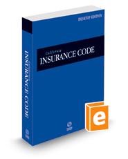 California Insurance Code, 2022 ed. (California Desktop Codes)