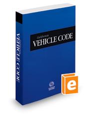 California Vehicle Code, 2019 ed  (Cali    | Legal Solutions