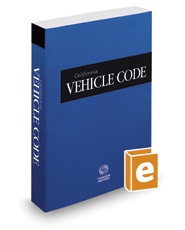 California Vehicle Code, 2021 ed. (California Desktop Codes)