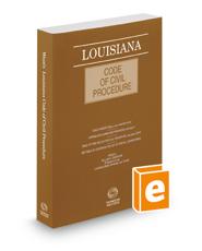 Louisiana Code of Civil Procedure, 2016 ed.