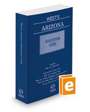West's Arizona Education Code, 2018-2019 ed.