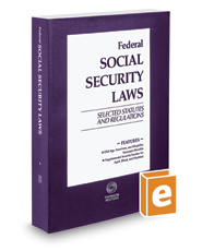 Federal Social Security Laws: Selected     | Legal Solutions