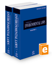 California Environmental Laws, 2022 ed. (California Desktop Codes)