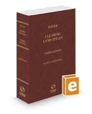 Basye Clearing Land Titles, 3d, 2020-2021 ed.