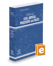 Federal Civil Judicial Procedure and Rules, 2016 Revised ed.