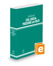 Federal Civil Judicial Procedure and Rules, 2021 ed.