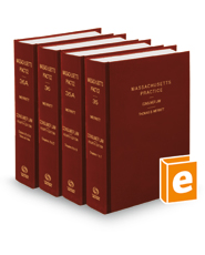Consumer Law, 4th (Vols. 35, 35A, 36, and 36A, Massachusetts Practice Series)