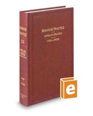 Appellate Practice, 2d (Vol. 24, Missouri Practice Series)