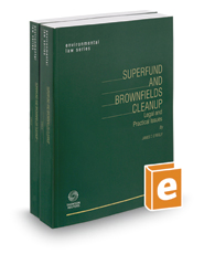 Superfund and Brownfields Cleanup, 2017-2018 ed.
