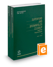 Superfund and Brownfields Cleanup, 2018-2019 ed.