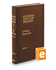 Civil Jury Instructions, 3d (Vol. 18, Louisiana Civil Law Treatise Series)