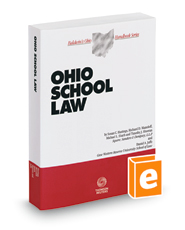 Cover art for Ohio School Law (2017-2018 ed.)