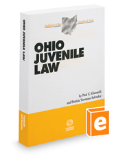Ohio Juvenile Law, 2018 ed. (Baldwin's Ohio Handbook Series)