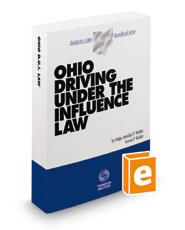 Ohio Driving Under the Influence Law, 2015-2016 ed. (Baldwin's Ohio Handbook Series)