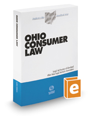 Ohio Consumer Law, 2016-2017 ed. (Baldwin's Ohio Handbook Series)