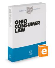 Ohio Consumer Law, 2021-2022 ed. (Baldwin's Ohio Handbook Series)