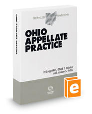 Cover art for Ohio Appellate Practice (Annually 2017-2018 ed.)