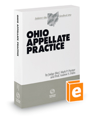 Ohio Appellate Practice, 2020-2021 ed. (Baldwin's Ohio Handbook Series)