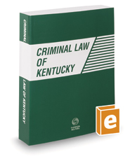 Criminal Law of Kentucky, 2021 ed.