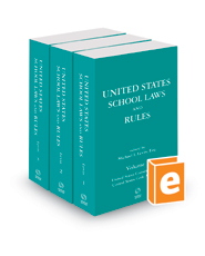 United States School Laws and Rules, 2018 ed.