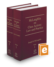 McLaughlin on Class Actions: Law and Practice, 13th