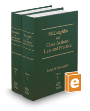 McLaughlin on Class Actions: Law and Practice, 14th