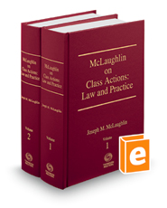 McLaughlin on Class Actions: Law and Practice, 15th