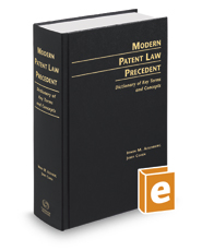 Modern Patent Law Precedent: Dictionary of Key Terms and Concepts, 18th