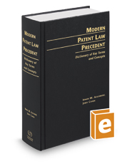 Modern Patent Law Precedent: Dictionary of Key Terms and Concepts, 20th