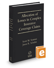 Allocation of Losses in Complex Insurance Coverage Claims, 8th