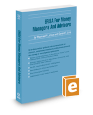 ERISA for Money Managers and Advisors, 2017-2018 ed.