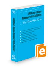 ERISA for Money Managers and Advisors, 2021-2022 ed.