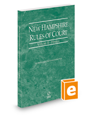 New Hampshire Rules of Court - Federal, 2021 ed. (Vol. II, New Hampshire Court Rules)