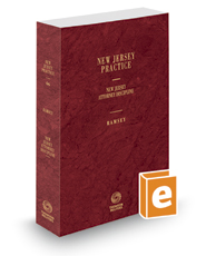 Attorney Discipline, 2019-2020 ed. (Vol. 46, New Jersey Practice Series)