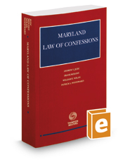 Maryland Law of Confessions, 2016-2017 ed.