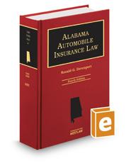 Alabama Automobile Insurance Law, 4th