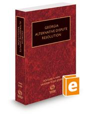 Georgia Alternative Dispute Resolution, 2016 ed.