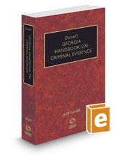 Daniel's Georgia Handbook on Criminal Evidence, 2017 ed.