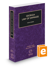 Georgia Law of Damages with Forms, 2015-2016 ed.