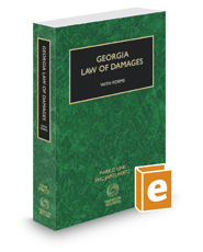 Georgia Law of Damages with Forms, 2016-2017 ed.