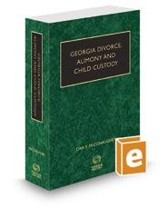Georgia Divorce, Alimony and Child Custody, 2016-2017 ed.