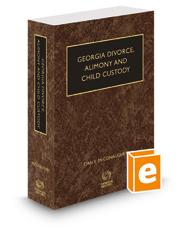 McConaughey's Georgia Divorce, Alimony and Child Custody, 2018-2019 ed.