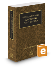 McConaughey's Georgia Divorce, Alimony and Child Custody, 2019-2020 ed.