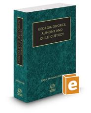 McConaughey's Georgia Divorce, Alimony and Child Custody, 2020-2021 ed.