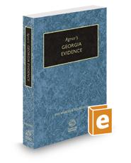 Agnor's Georgia Evidence, 2017-2018 ed.