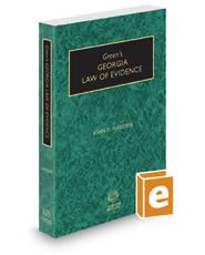 Green's Georgia Law of Evidence, 2019-2020 ed.
