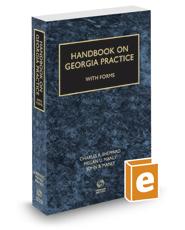 Handbook on Georgia Practice with Forms, 2016-2017 ed.