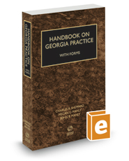 Handbook on Georgia Practice with Forms, 2017-2018 ed.