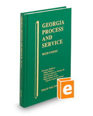 Georgia Process and Service with Forms