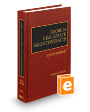 Georgia Real Estate Sales Contracts, 6th
